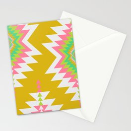 Bohemian shapes Stationery Cards