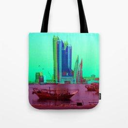 BFH, bahrain Tote Bag
