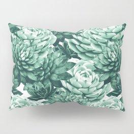 Succulents Pattern #1 #GreenVibes #decor #art #society6 Pillow Sham