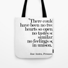 There Could Have Been No Two Hearts Tote Bag