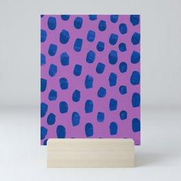 Deep Violet Blueberry Mini Art Print
