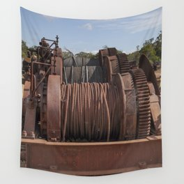 Steel Cables Wall Tapestry