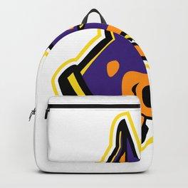 Doberman Pinscher Dog Mascot Backpack