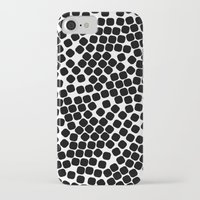 gold dots iPhone & iPod Cases featuring Dots by Patterns and Textures