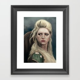 Shieldmaiden Framed Art Print