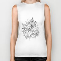all seeing eye Biker Tanks featuring All Seeing Eye by R. Gilbert