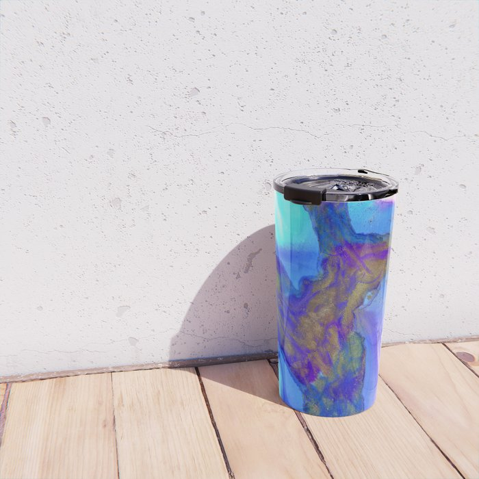 Cobalt Crevice Travel Mug