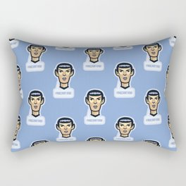 Fascinating vulcan spock - science fiction - movie quote - geek humor Rectangular Pillow