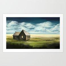 lost house  Art Print