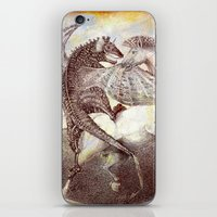 fight iPhone & iPod Skins featuring Fight. by Nato Gomes