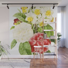 Spring Flowers Wall Mural