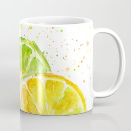 Fruit Watercolor Citrus Coffee Mug