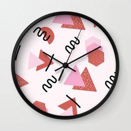 Shapes. Wall Clock