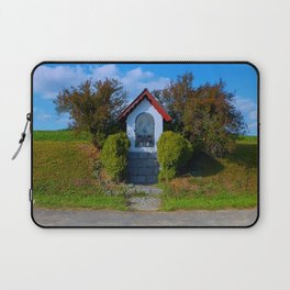 Wayside shrine in summertime II | architectural photography Laptop Sleeve