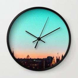 g r a d i e n t s k y . p p t Wall Clock