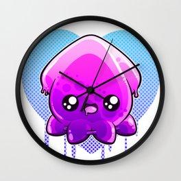 Jelly Squid  Wall Clock