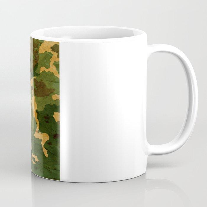 Camouflage Muster Grunge Coffee Mug