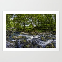River Conwy Art Print
