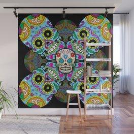 Sugar Skulls Wall Mural