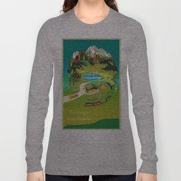 Vintage poster - Austria Long Sleeve T-shirt