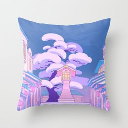 Stairway to the Spirit World Throw Pillow
