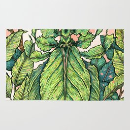 Leaf Mimic Rug