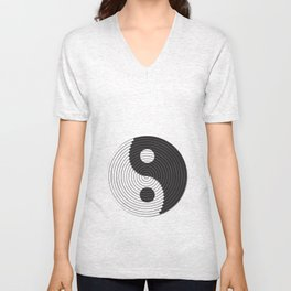PEACE SIGN VECTOR Unisex V-Neck