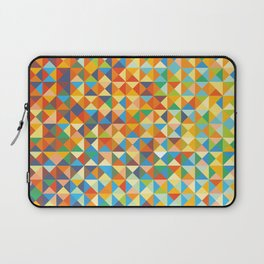 Triangles & Colors Laptop Sleeve