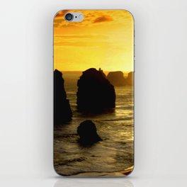 Sunset over the Twelve Apostles - Australia iPhone Skin