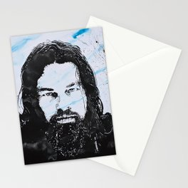 Leonardo DiCaprio -The revenant Stationery Cards