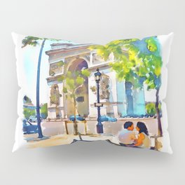 The Arc de Triomphe Paris Pillow Sham