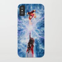 wreck it ralph iPhone & iPod Cases featuring THOR vs RALPH by Raisya