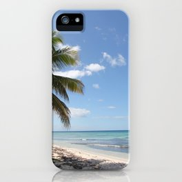 Isla Saona Caribbean Paradise Beach iPhone Case