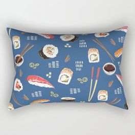 Sushi Party Rectangular Pillow