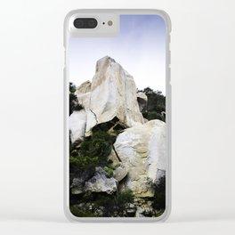 Ortega Mountain #1 Clear iPhone Case