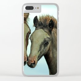welsh ponies Clear iPhone Case