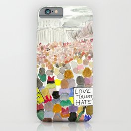 Washington DC March 2017 iPhone Case