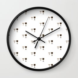 GLASS PATTERN Wall Clock