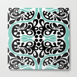 C13D Swirl Pattern Metal Print