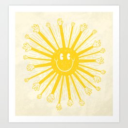 Heat Wave Art Print