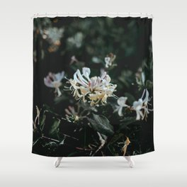 flower photography by Annie Spratt Shower Curtain