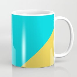 Neon Pastel Stripes Coffee Mug
