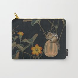 Gourd Vine and Chipmunk Carry-All Pouch