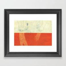 Made for walking Framed Art Print