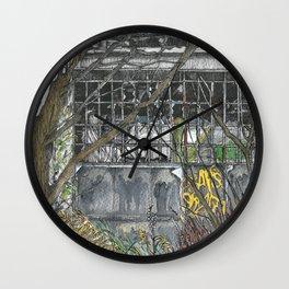 Nature will conquer I Wall Clock