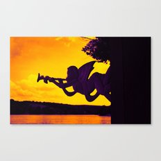 Horn section Canvas Print