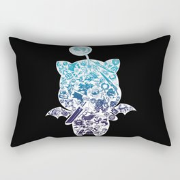 Moogleverse (blue) Rectangular Pillow