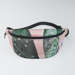 Plant circles & triangles Fanny Pack