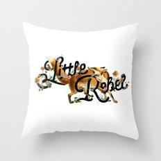 Little Rebel Throw Pillow