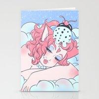 icecream Stationery Cards featuring Icecream by JupiterBlossem
